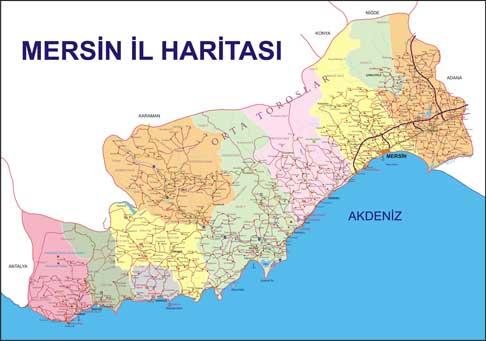 Mersin Coğrafi Yapı Mersin şehir Rehberi